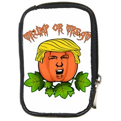 Trump Or Treat  Compact Camera Cases by Valentinaart