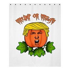 Trump Or Treat  Shower Curtain 60  X 72  (medium)  by Valentinaart