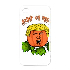 Trump Or Treat  Apple Iphone 4 Case (white) by Valentinaart