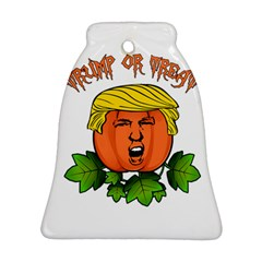 Trump Or Treat  Ornament (bell) by Valentinaart