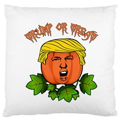 Trump Or Treat  Standard Flano Cushion Case (one Side) by Valentinaart