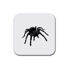 Tarantula Rubber Square Coaster (4 Pack)  by Valentinaart