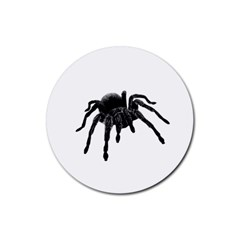 Tarantula Rubber Round Coaster (4 Pack)  by Valentinaart