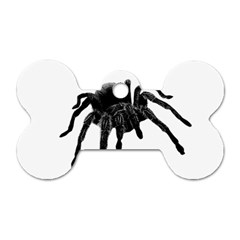 Tarantula Dog Tag Bone (one Side) by Valentinaart