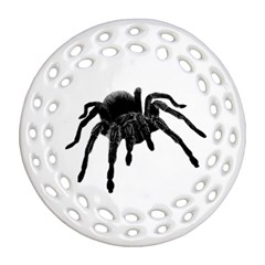 Tarantula Ornament (round Filigree) by Valentinaart