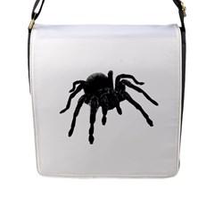Tarantula Flap Messenger Bag (l)  by Valentinaart
