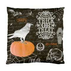Vintage Halloween Standard Cushion Case (one Side) by Valentinaart