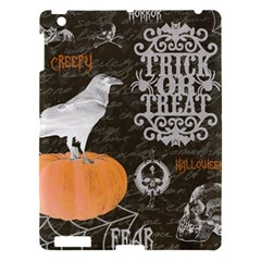 Vintage Halloween Apple Ipad 3/4 Hardshell Case by Valentinaart