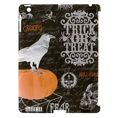 Vintage Halloween Apple Ipad 3/4 Hardshell Case (compatible With Smart Cover) by Valentinaart