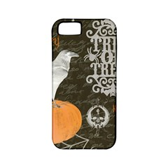 Vintage Halloween Apple Iphone 5 Classic Hardshell Case (pc+silicone) by Valentinaart