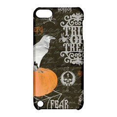 Vintage Halloween Apple Ipod Touch 5 Hardshell Case With Stand by Valentinaart