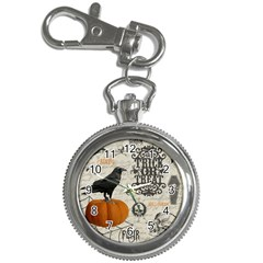 Vintage Halloween Key Chain Watches by Valentinaart