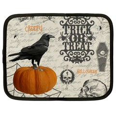 Vintage Halloween Netbook Case (xl)  by Valentinaart