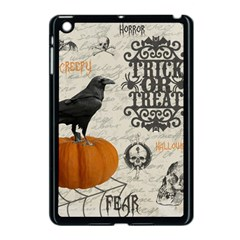 Vintage Halloween Apple Ipad Mini Case (black) by Valentinaart
