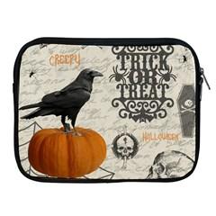 Vintage Halloween Apple Ipad 2/3/4 Zipper Cases by Valentinaart