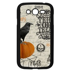 Vintage Halloween Samsung Galaxy Grand Duos I9082 Case (black) by Valentinaart
