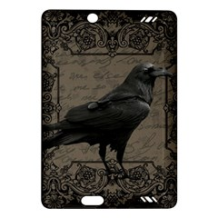 Vintage Halloween Raven Amazon Kindle Fire Hd (2013) Hardshell Case by Valentinaart
