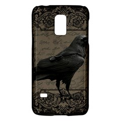 Vintage Halloween Raven Galaxy S5 Mini by Valentinaart