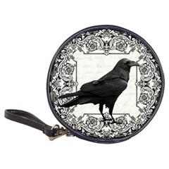 Vintage Halloween Raven Classic 20 Cd Wallets by Valentinaart