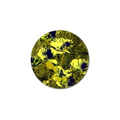 Amazing Glowing Flowers 2c Golf Ball Marker (10 Pack) by MoreColorsinLife