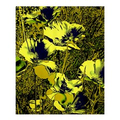 Amazing Glowing Flowers 2c Shower Curtain 60  X 72  (medium)  by MoreColorsinLife
