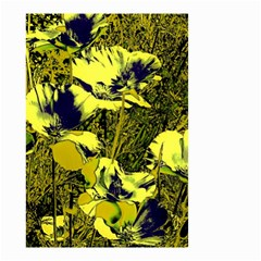 Amazing Glowing Flowers 2c Small Garden Flag (two Sides) by MoreColorsinLife