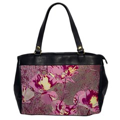 Amazing Glowing Flowers 2b Office Handbags by MoreColorsinLife