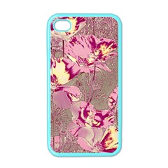 Amazing Glowing Flowers 2b Apple Iphone 4 Case (color) by MoreColorsinLife