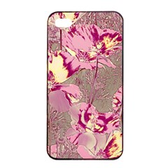 Amazing Glowing Flowers 2b Apple Iphone 4/4s Seamless Case (black) by MoreColorsinLife