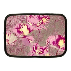Amazing Glowing Flowers 2b Netbook Case (medium)  by MoreColorsinLife