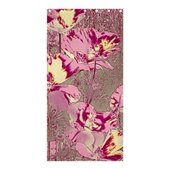 Amazing Glowing Flowers 2b Shower Curtain 36  X 72  (stall)  by MoreColorsinLife