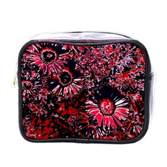 Amazing Glowing Flowers C Mini Toiletries Bags by MoreColorsinLife