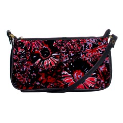 Amazing Glowing Flowers C Shoulder Clutch Bags by MoreColorsinLife