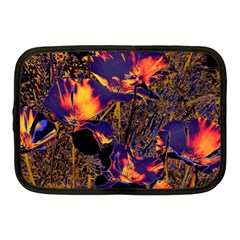Amazing Glowing Flowers 2a Netbook Case (medium)  by MoreColorsinLife