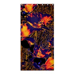 Amazing Glowing Flowers 2a Shower Curtain 36  X 72  (stall)  by MoreColorsinLife