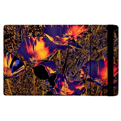 Amazing Glowing Flowers 2a Apple Ipad 2 Flip Case by MoreColorsinLife