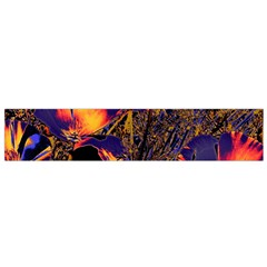 Amazing Glowing Flowers 2a Flano Scarf (small) by MoreColorsinLife
