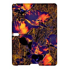 Amazing Glowing Flowers 2a Samsung Galaxy Tab S (10 5 ) Hardshell Case  by MoreColorsinLife