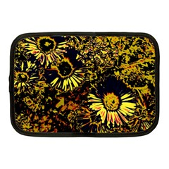 Amazing Neon Flowers B Netbook Case (medium)  by MoreColorsinLife