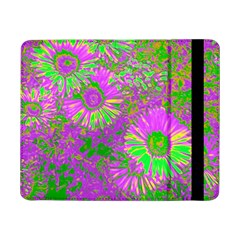 Amazing Neon Flowers A Samsung Galaxy Tab Pro 8 4  Flip Case by MoreColorsinLife