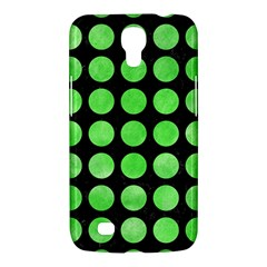 Circles1 Black Marble & Green Watercolor Samsung Galaxy Mega 6 3  I9200 Hardshell Case by trendistuff
