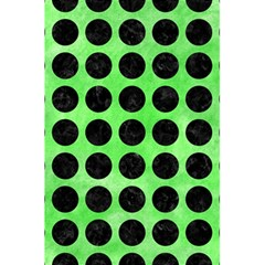 Circles1 Black Marble & Green Watercolor (r) 5 5  X 8 5  Notebooks by trendistuff