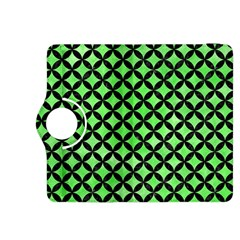 Circles3 Black Marble & Green Watercolor (r) Kindle Fire Hdx 8 9  Flip 360 Case by trendistuff