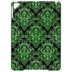 Damask1 Black Marble & Green Watercolor Apple Ipad Pro 9 7   Hardshell Case by trendistuff