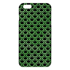 Scales2 Black Marble & Green Watercolor Iphone 6 Plus/6s Plus Tpu Case by trendistuff