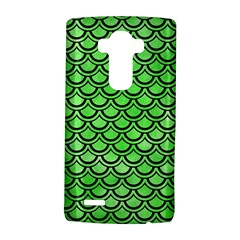 Scales2 Black Marble & Green Watercolor (r) Lg G4 Hardshell Case by trendistuff
