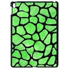 Skin1 Black Marble & Green Watercolor Apple Ipad Pro 9 7   Black Seamless Case by trendistuff
