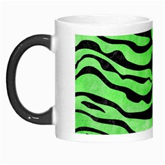 Skin2 Black Marble & Green Watercolor (r) Morph Mugs by trendistuff