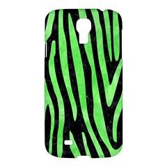Skin4 Black Marble & Green Watercolor (r) Samsung Galaxy S4 I9500/i9505 Hardshell Case by trendistuff
