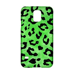 Skin5 Black Marble & Green Watercolor Samsung Galaxy S5 Hardshell Case
